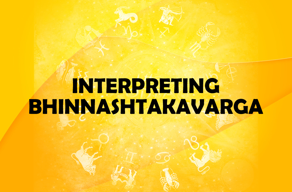 Interpreting Bhinnashtakavarga