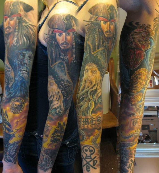 Tatuaże Z Motywami Piraci Z Karaibów Tatuaże 100 Pro