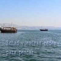 una lancha en el mar de galilea