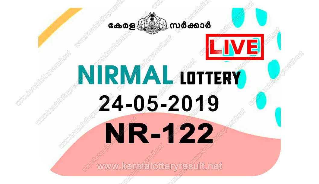 Kerala Lottery Result 24/05/2019; Nirmal Lottery Results