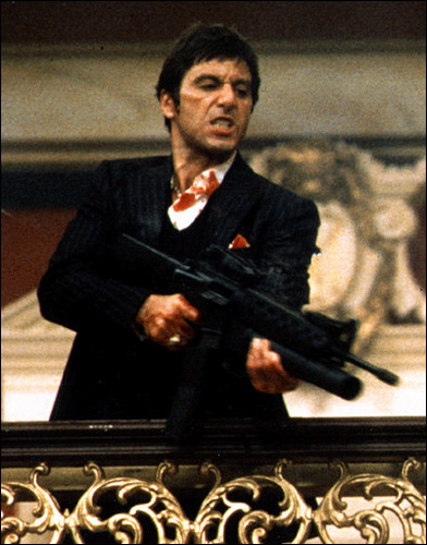 People Like Us Say Hello To My Little Friend Tony Montana In