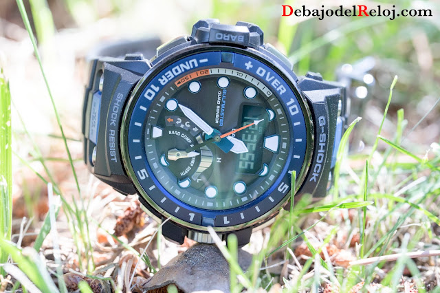 G-SHOCK GWN-Q1000 cesped 2