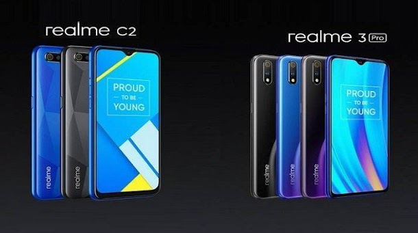 Realme 3 Pro dan Realme C2 Resmi Hadir di Indonesia