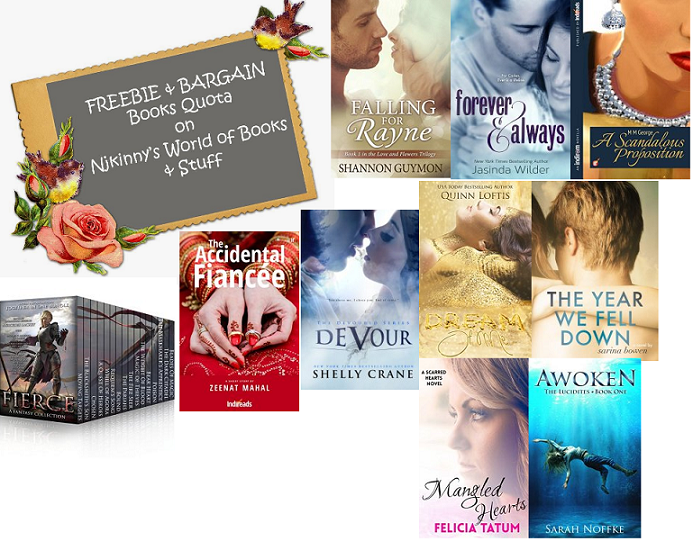 #FBQ(66)--> FREE & BARGAIN books quota!