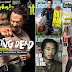 Capas de The Walking Dead na Entertainment Weekly ao longo dos anos