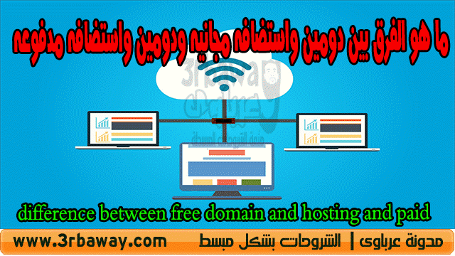 difference between free domain and hosting and paid