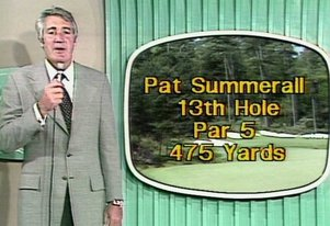 Classic TV Sports: History of the Masters golf tournament on