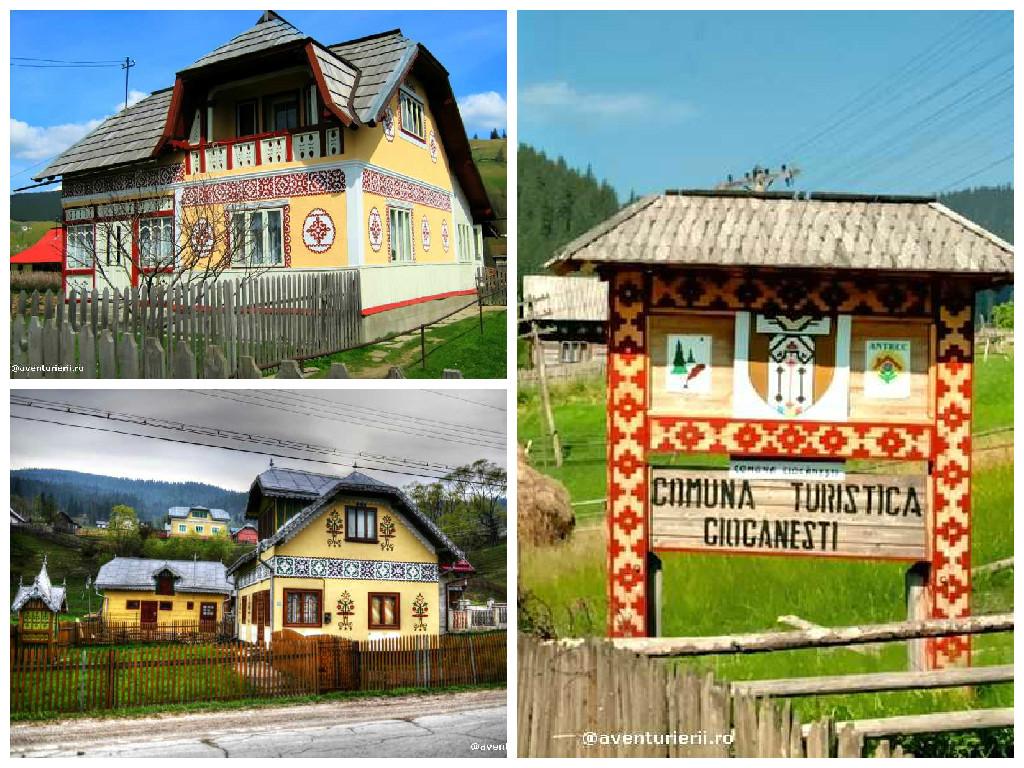 Dacia romania land of miracles - The painted houses of ciocanesti ...