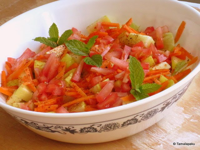 Spicy Apple Salad