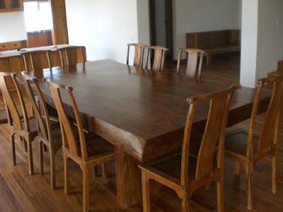 Mebel jepara solid kayu trembesi meja makan antik,meja makan solid dining table meh wood suar termbesi furniture meja makan kayu Trembesi meh wood kayu suar,meja makan kayu utuh meh,MJ TRMBS 1006