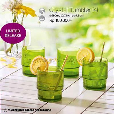 Crystal Tumbler  ~ Katalog Tupperware Promo Mei 2016