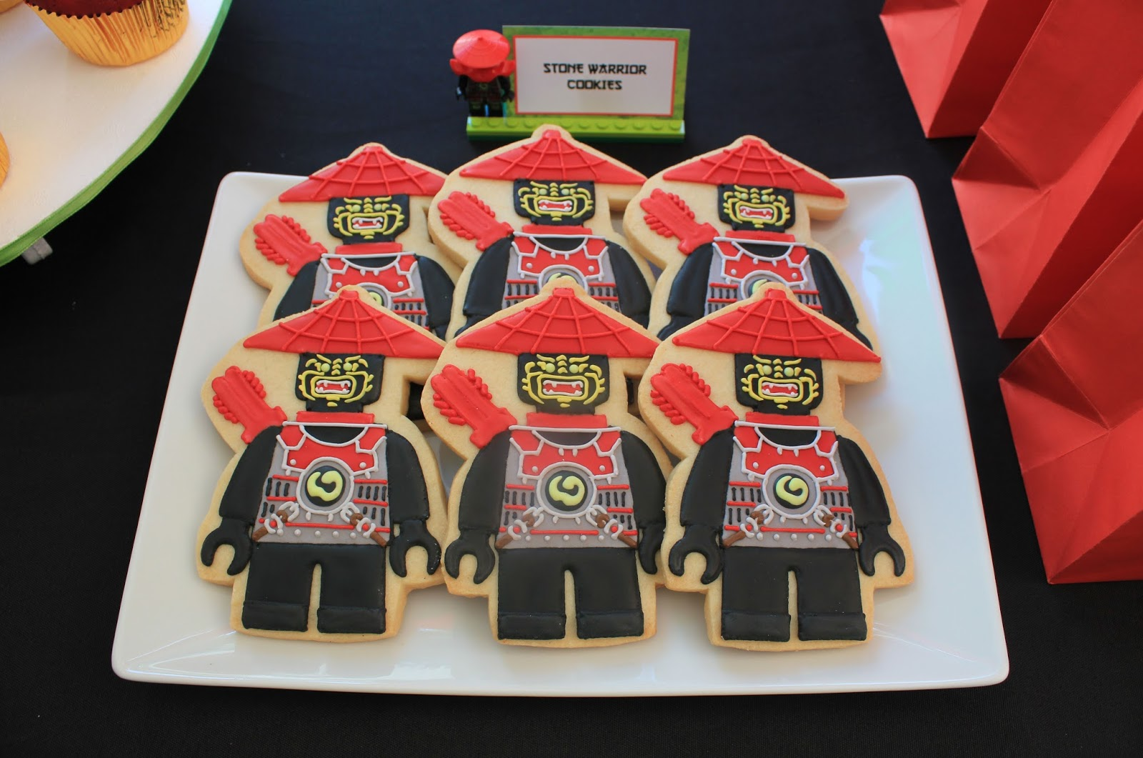 Sugar Mama Cookies Rocco S 4th Birthday A Ninjago Party