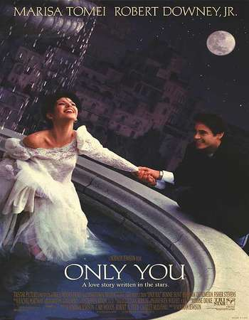 Poster Of Only You 1994 English 300MB Web-DL 576p Watch Online Free Download world4ufree.org