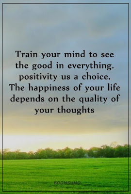 Train Your Mind To Be Positive