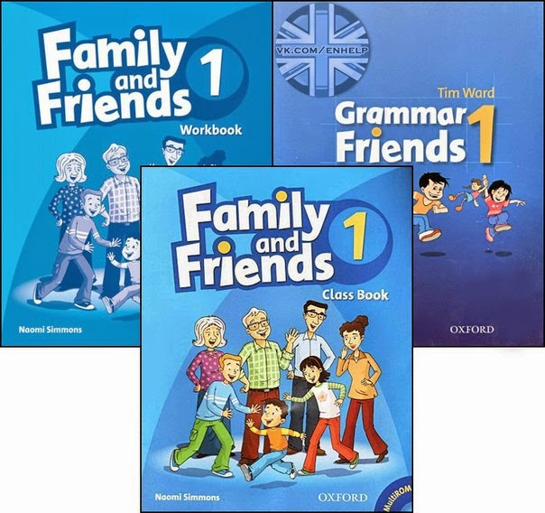 OXFORD: Family and Friends 1 + Audio CD