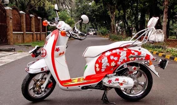 modifikasi Honda Scoopy Terbaru 2015