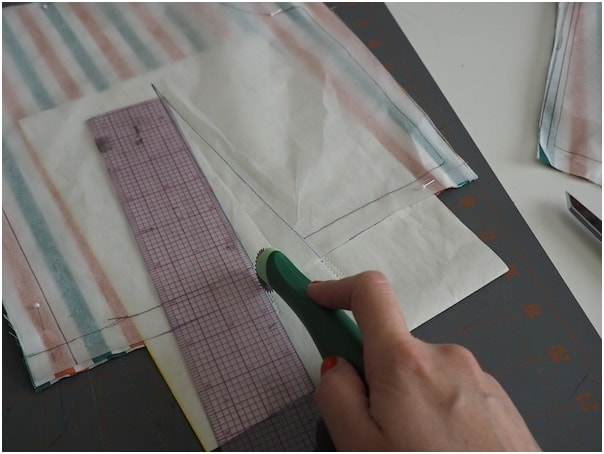 Tracing and marking on garments
