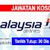 Job Vacancy at Malaysia Airlines Berhad