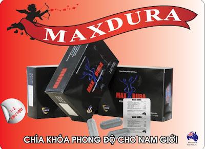 TPCN Maxdura - Tăng cường sức khỏe sinh lý nam giới hiệu quả