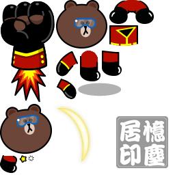 Line Rangers推出紅衣熊大等六名新角色