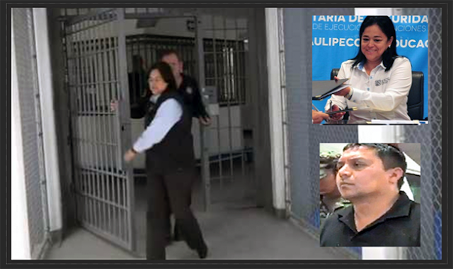 """La Ex-Jefa del Altiplano que permitió megafiesta a El Z-40 con Los Tucanes de Tijuana ahora gobernador de Tamaulipas la nombra """"Jefa de penales"""""""