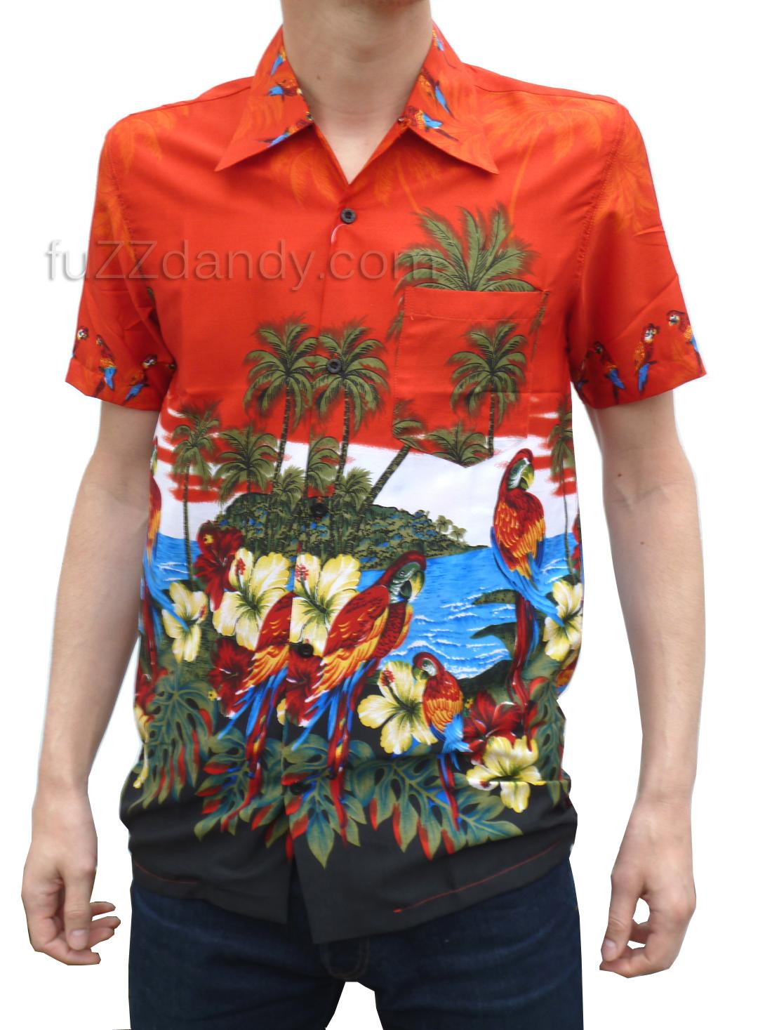 New Hawaiian Silk Flower Lei Hawaii Luau Party Favors Hula: FuZZdandy Clothing: New Hawaiin Shirts In