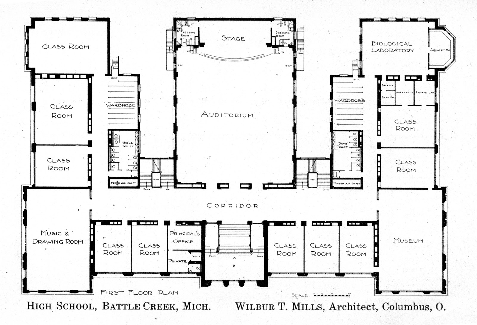 Simple School Blueprints