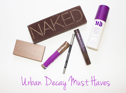 Urban Decay Must Haves