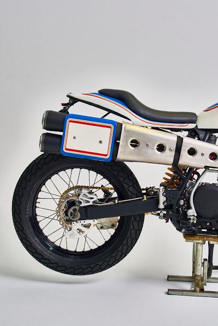 Honda XR600 By Vintage Addiction Crew Hell Kustom