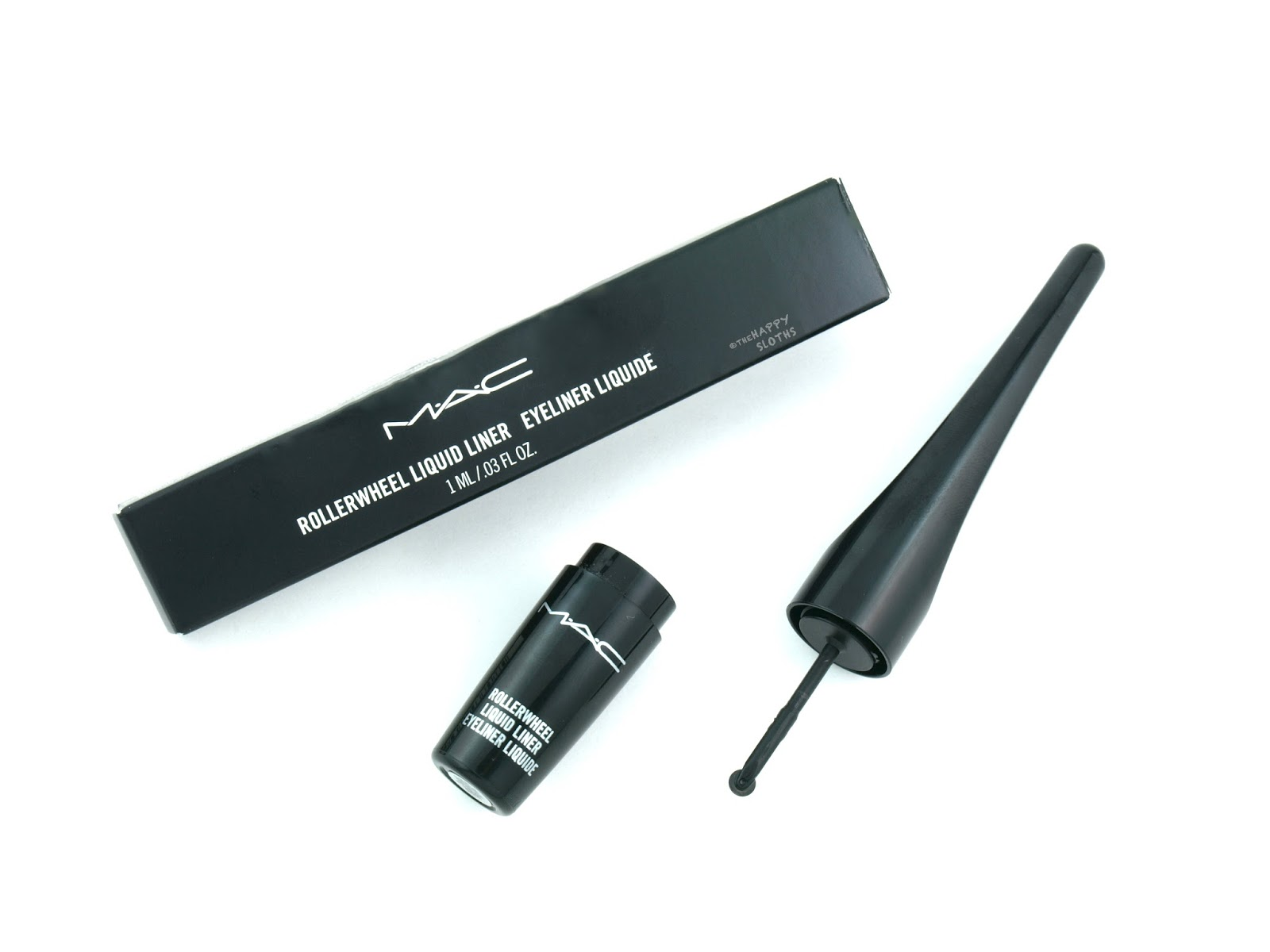 The Pizza Cutter Eyeliner | MAC Rollerwheel Liquid Liner: Review and Swatches