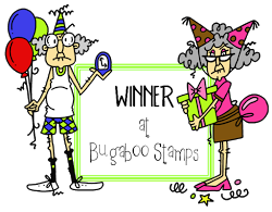 Bugaboo February Bingo Winner