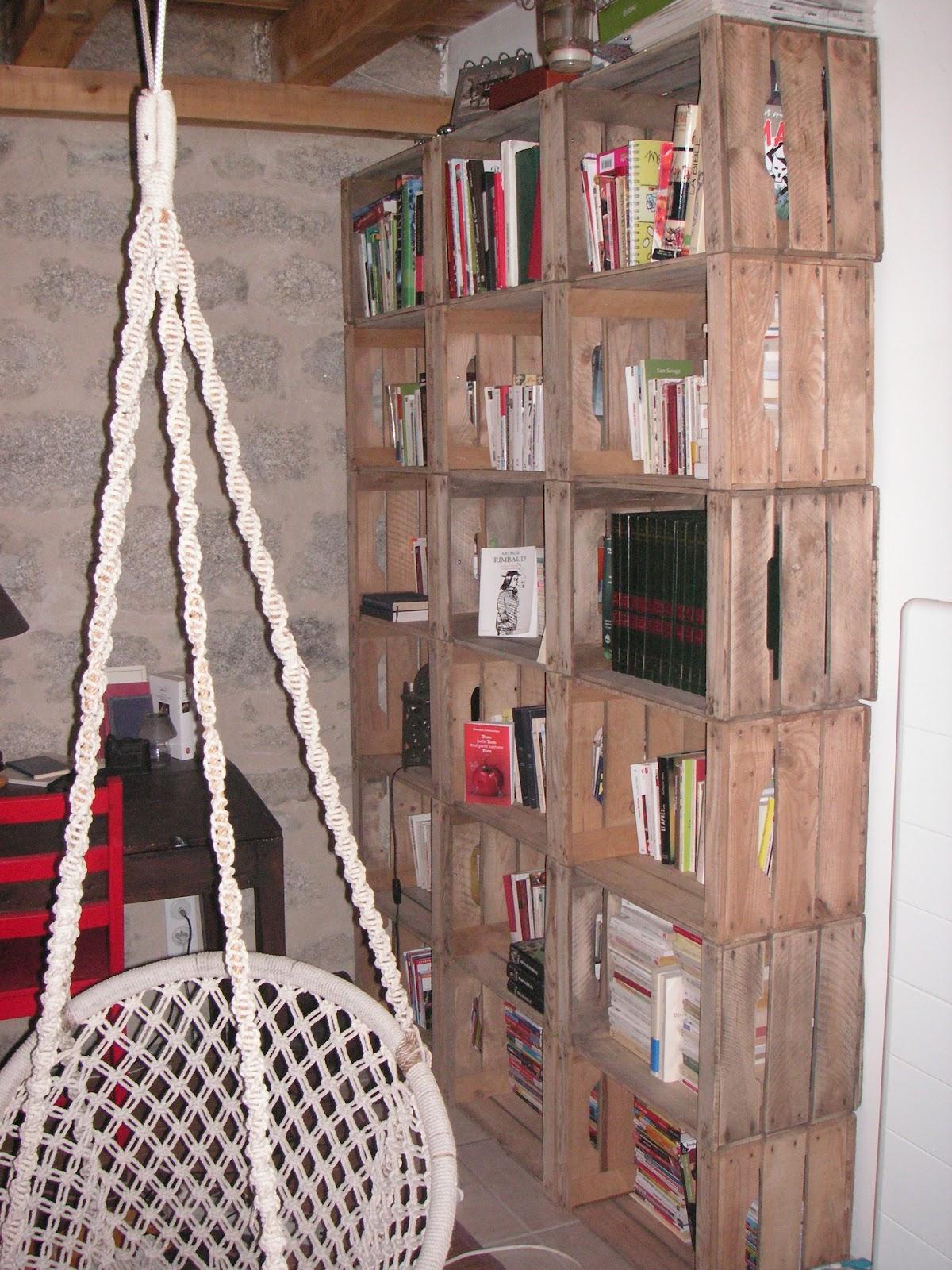Retaper Une Vieille Caisse En Bois construire-retaper: caisses de pommes pom pom pom