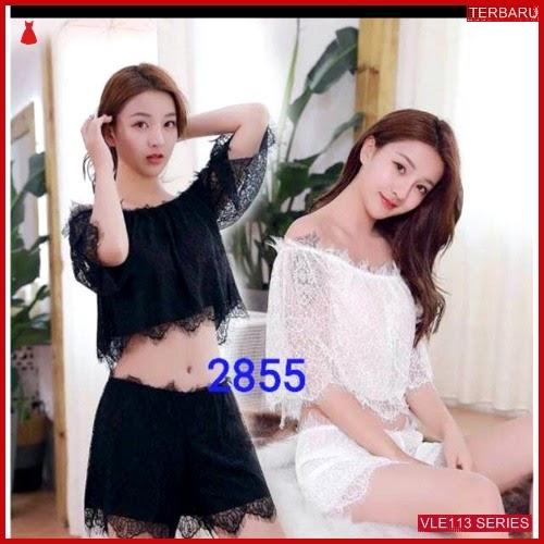 VLE057B52 LINGERIE 22007 SESERAHAN SEXY BAJU TIDUR BMGShop