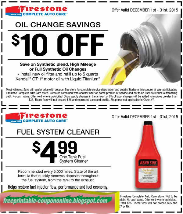 Www Firestone Com Coupons August 2018 Coupons