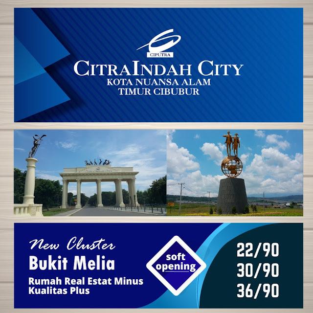 Cluster Bukit MELIA Citra Indah City mulai dipasarkan