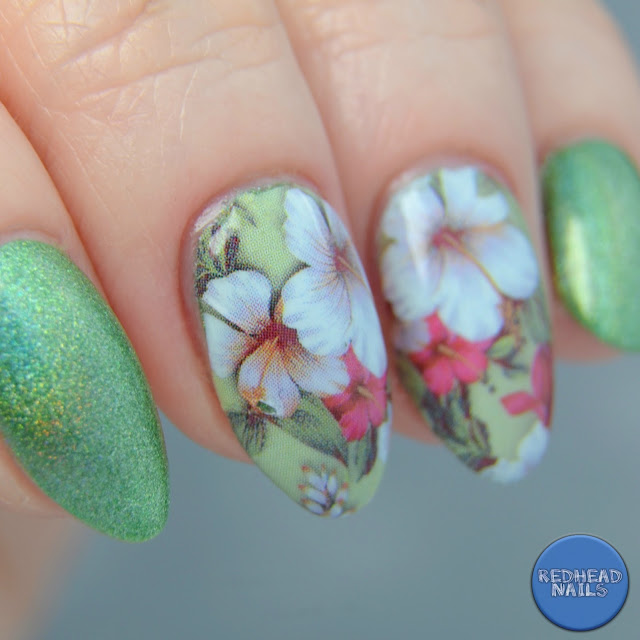 Swatch Born Pretty Store green holo