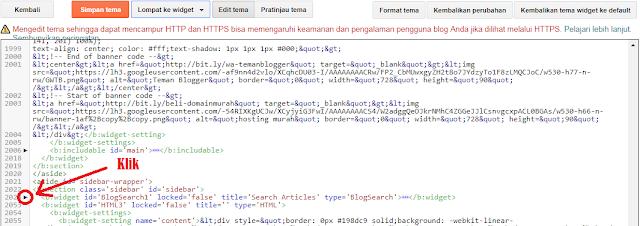 cara menyembunyikan widget blog di tampilan seluler.
