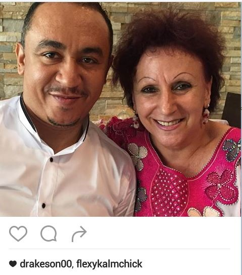 So Pretty! Daddy Freeze Shares Photo of His 'Oyibo' Mum Following Comments He was Adopted