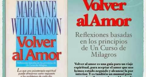 volver al amor marianne williamson pdf