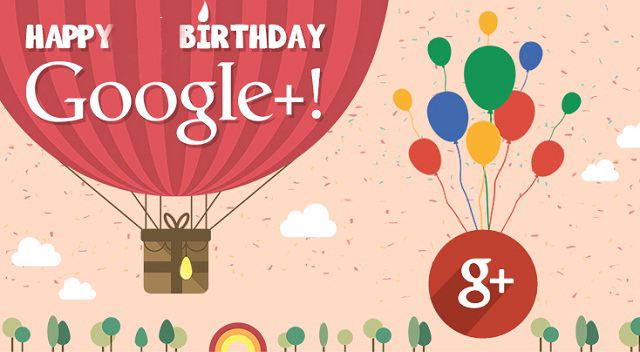 Google + Turns Six Year Old Today: Let's Celebrate The Birthday Together
