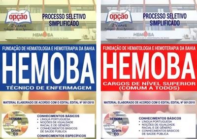 Apostila Concurso HEMOBA 2018