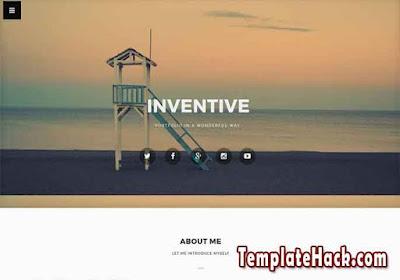 inventive blogger template