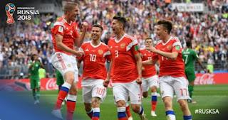 Rusia vs Arab Saudi 5-0 Video Gol Highlights - Piala Dunia 2018