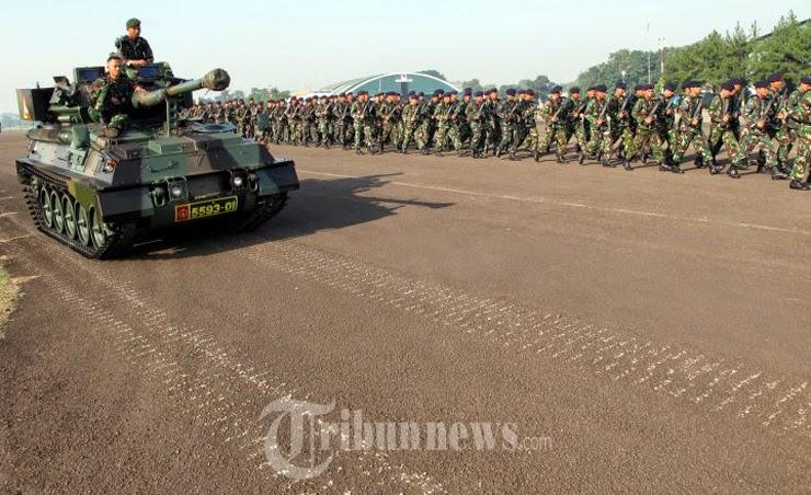 Latihan Gabungan TNI 2014