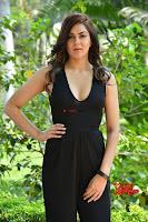 Sakshi Chaudhary in beuatiful black Deep neck Top and trousers at oollo pelliki kukka ~  Exclusive Galleries 043.jpg