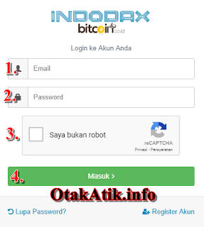 login indodax