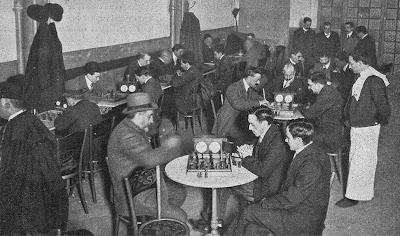 Café de la Sala Imperio en 1909