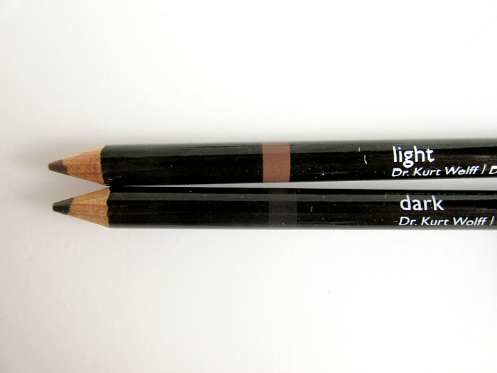 Review: ALCINA Precise Eyebrow Liner Light & Dark - je 12.95 Euro UVP