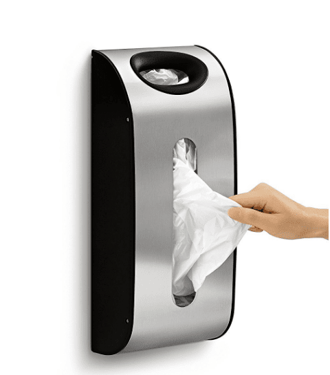 36 Genius Yet Inexpensive Products That Can Save Lives - Tame Your Unruly Pile of Garbage Bags with This Bag Dispenser
