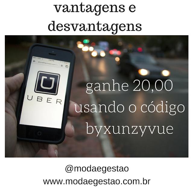 desconto para o Uber em Brasília